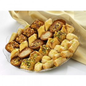 A Mixed Baklawa Tray