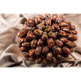 Dates Filled with Hazelnuts