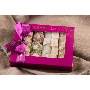 Assorted Turkish Delights Box - 500g
