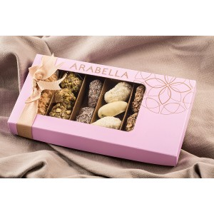 Dates Coated with Chocolate 325g - Arabella Box