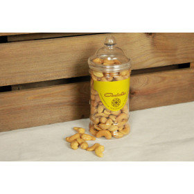 Cashews dry roasted and lightly salted Jar - 250 g