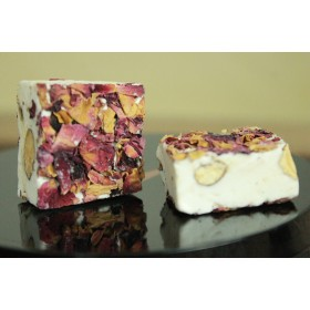 Nougat Almonds  with Rose Petal 450g