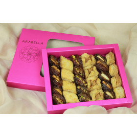 Baklawa & Medjool Dates Assortment - appx 26 pieces - NEW