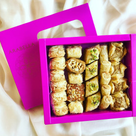 Baklawa Selection  -   24 pieces - NEW