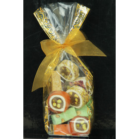Assorted soft Lebanese Nougat with Pistachio , 8 pieces