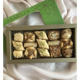 Baklawa  Assortment -440g  appx 15 pieces NEW