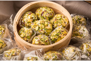 Green Grass nougat Mastic with pistachio 450g