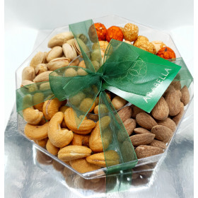 Assorted Nuts Hexagon - 5 Varieties (240g-260g)