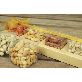 Assorted Nuts Luxury -  4 cubes selection 450 g
